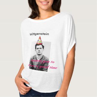 よい時Wittgenstein Tシャツ