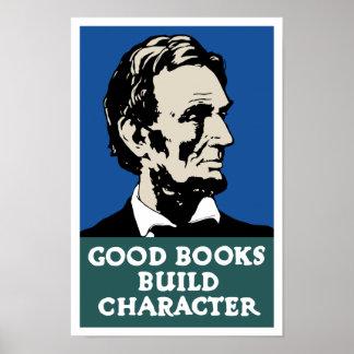 よい本の造りのキャラクター -- WPA ポスター