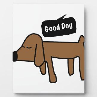 よい犬 フォトプラーク