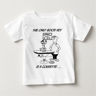 よい獣医だけ ベビーTシャツ