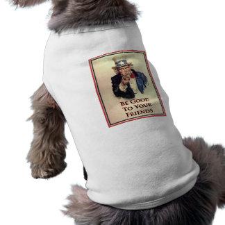 よい米国市民ポスターがあって下さい ペット服