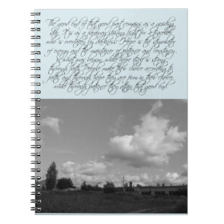 よい終わりの引用文 ノートブック