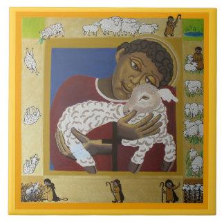 よい羊飼い タイル