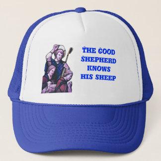 よい羊飼い、教会窓 キャップ