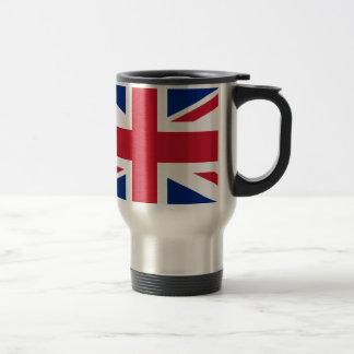 """よい色のイギリスのイギリス旗""""英国国旗"""" トラベルマグ"""