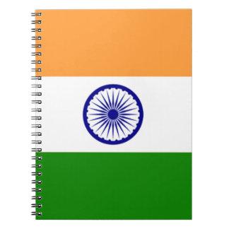 """よい色のインドの旗""""Tiranga """" ノートブック"""