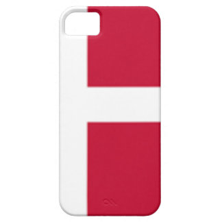 よい色のデンマークの旗のプリント iPhone SE/5/5s ケース