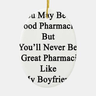 よい薬剤師である決してAではないです セラミックオーナメント