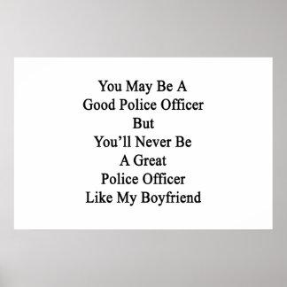 よい警官である決して ポスター