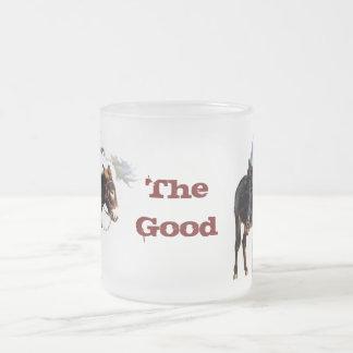 「よい」曇らされたマグ フロストグラスマグカップ