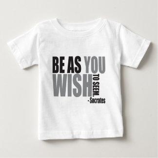 ようである望むようにあって下さい ベビーTシャツ