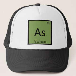 ように-アスパラガスの野菜化学周期表 キャップ