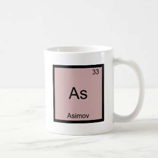 ように- Asimovおもしろいな化学要素の記号のティー コーヒーマグカップ