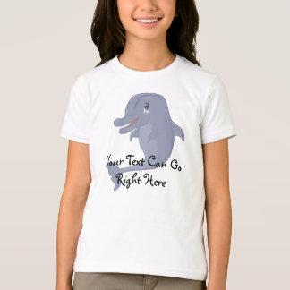よくはしゃぐなイルカのワイシャツ Tシャツ