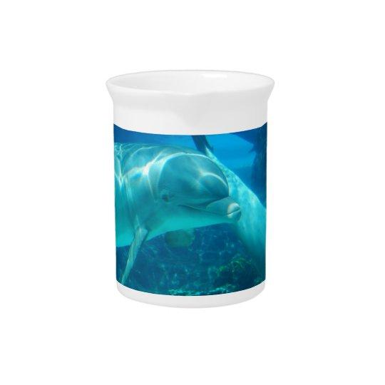 よくはしゃぐなイルカの水差し 飲み物ピッチャー