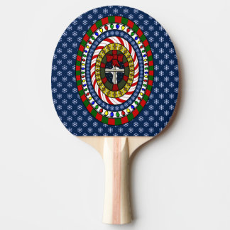 よくはしゃぐなクリスマスの卓球ラケット 卓球ラケット