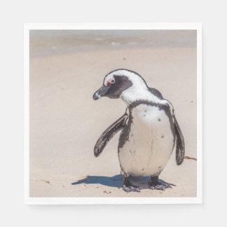 よくはしゃぐなペンギンのナプキン スタンダードランチョンナプキン