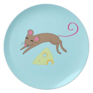 よくはしゃぐなマウス プレート