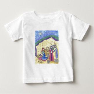 よくはしゃぐな出生 ベビーTシャツ