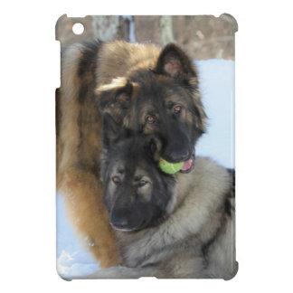 よくはしゃぐな犬が付いているiPad Miniカバー iPad Mini カバー