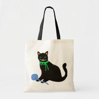 よくはしゃぐな猫 トートバッグ