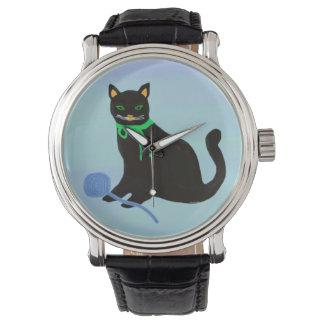 よくはしゃぐな猫 腕時計