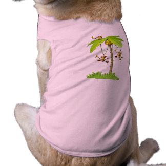 よくはしゃぐな猿ペットTシャツ ペット服