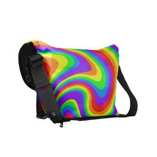 よくはしゃぐな虹 メッセンジャーバッグ