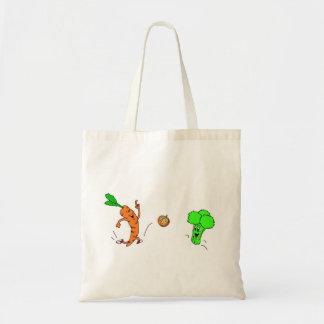 よくはしゃぐな野菜 トートバッグ