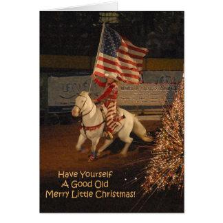 よくメリーで小さいクリスマスカード カード