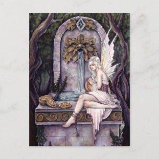 よく望んでいる妖精 ポストカード