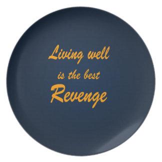 よく生存は最も最高のな復讐です プレート