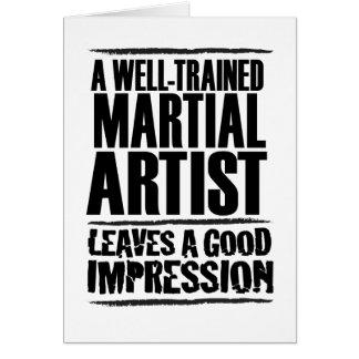 よく訓練された軍芸術家 カード