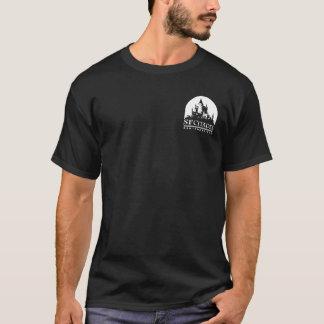 よじれ及びケーキのワイシャツ Tシャツ