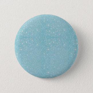 よじ登る美しい流行の柔らかく青いグリッター 缶バッジ