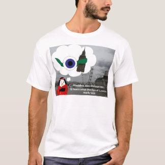 よたよた歩きのロンドンの目 Tシャツ