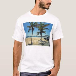 """""""よの生命ビーチ""""の- Tシャツで Tシャツ"""