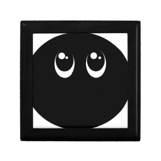 よりかわいい邪悪で黒いemojiのスマイリーフェイスを話さないで下さい ギフトボックス