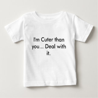 よりかわいい、ベビーのワイシャツ ベビーTシャツ