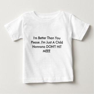 よりかわいい ベビーTシャツ