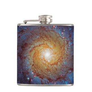よりきたない74渦状銀河の宇宙の写真 フラスク