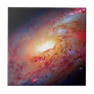よりきたないM106渦状銀河の宇宙の写真 タイル