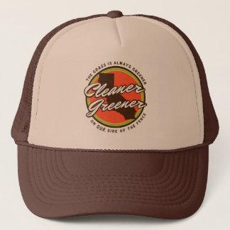 よりきれいな緑のCaliのトラック運転手の帽子 キャップ