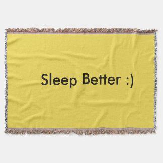 よりよい睡眠:) スローブランケット