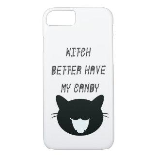 よりよい魔法使いは私のキャンデーの電話箱を持っています iPhone 8/7ケース