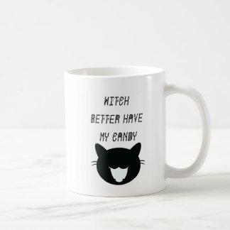 よりよい魔法使いは私のキャンデーを食べます コーヒーマグカップ