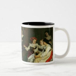 より低いアルザスの結婚式 ツートーンマグカップ