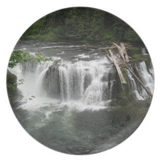 より低い滝のプレート プレート