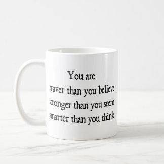 より勇敢 コーヒーマグカップ