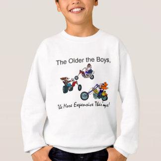より古い男の子より高いおもちゃ スウェットシャツ